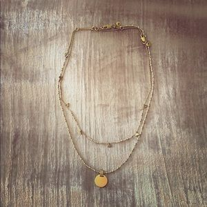 Madewell Beaded/Gold Necklace Set